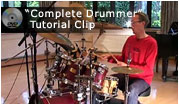 click here to view 'complete drummer' video clip
