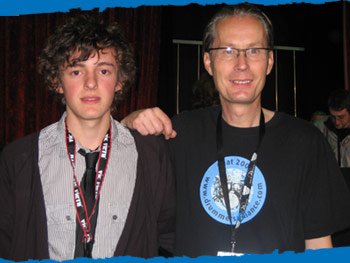 Grant Kershaw - Young Drummer 2008 Winner! with Toni Cannelli